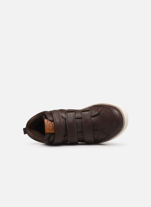 Sneakers Bopy Tanori Sk8 Marrone immagine sinistra