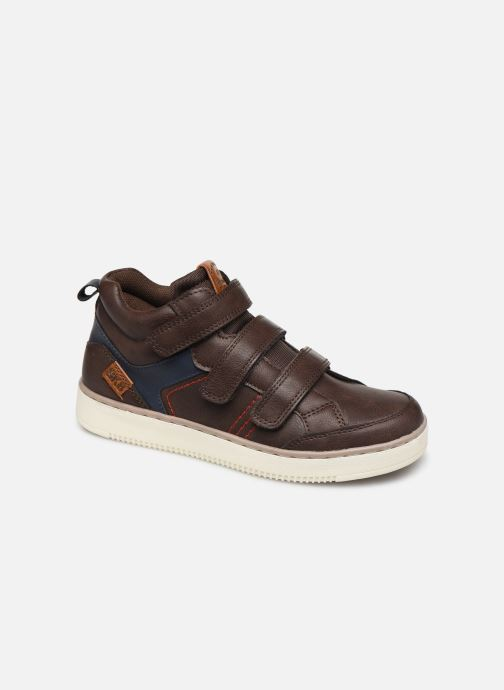 Trainers Bopy Tanori Sk8 Brown detailed view/ Pair view