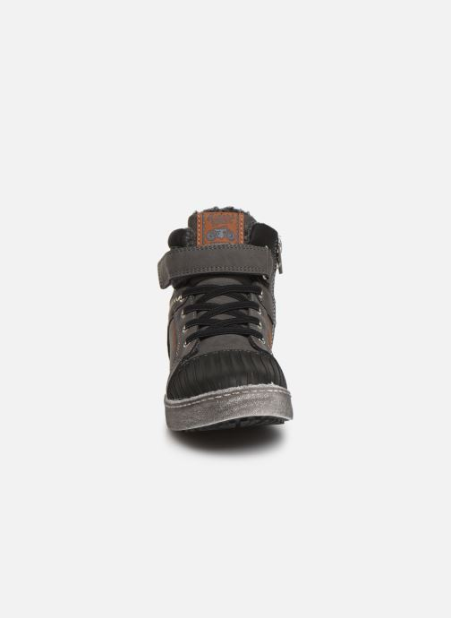 Baskets Bopy Imanol Sk8 Gris vue portées chaussures