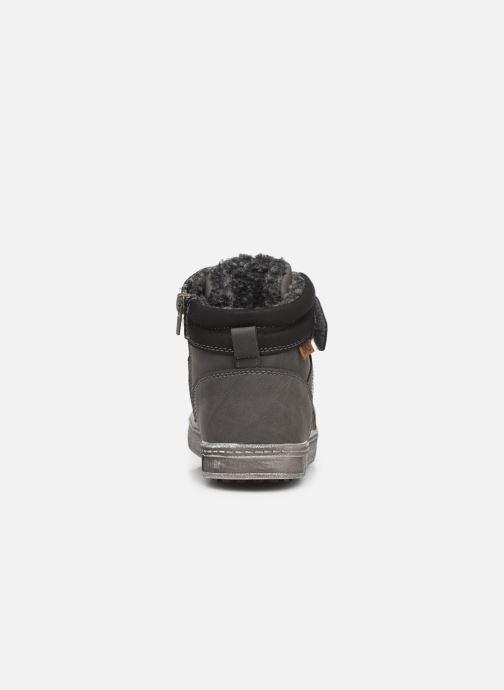 Sneaker Bopy Imanol Sk8 grau ansicht von rechts