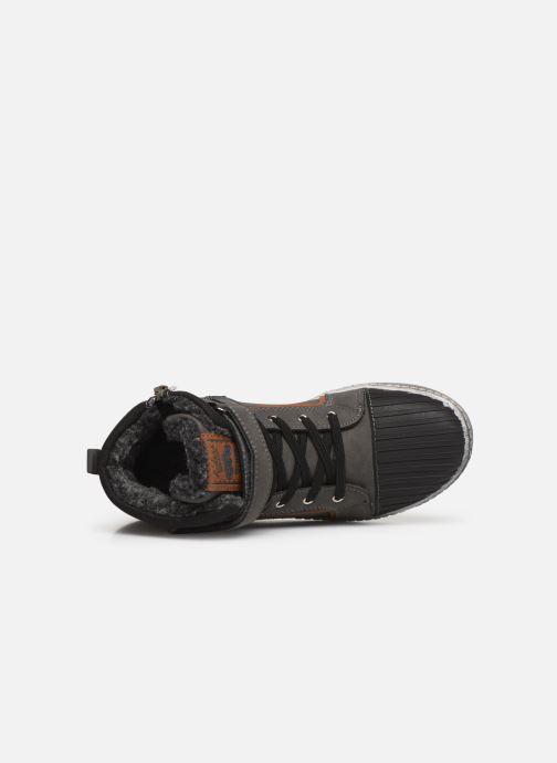 Sneaker Bopy Imanol Sk8 grau ansicht von links