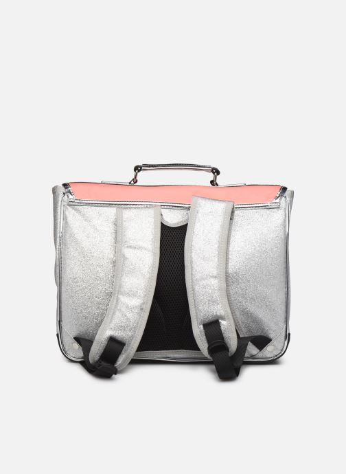 Schooltassen Caramel & Cie Cartable Classique 37cm Roze voorkant