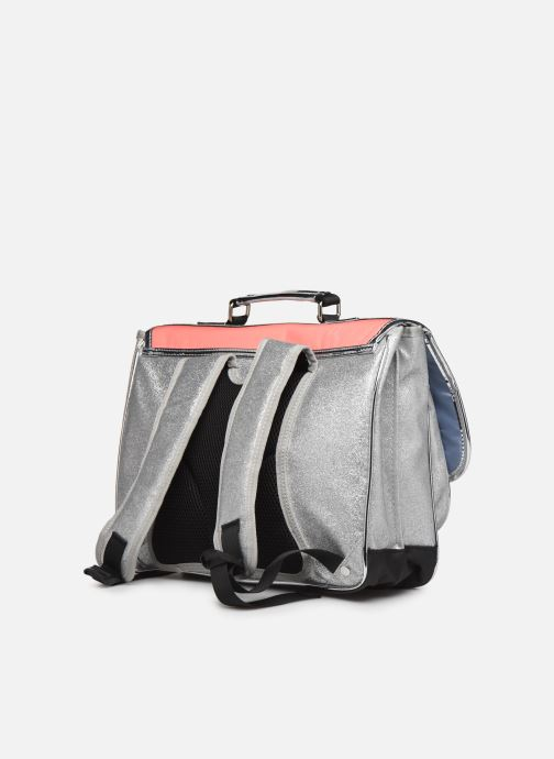 Schooltassen Caramel & Cie Cartable Classique 37cm Roze rechts