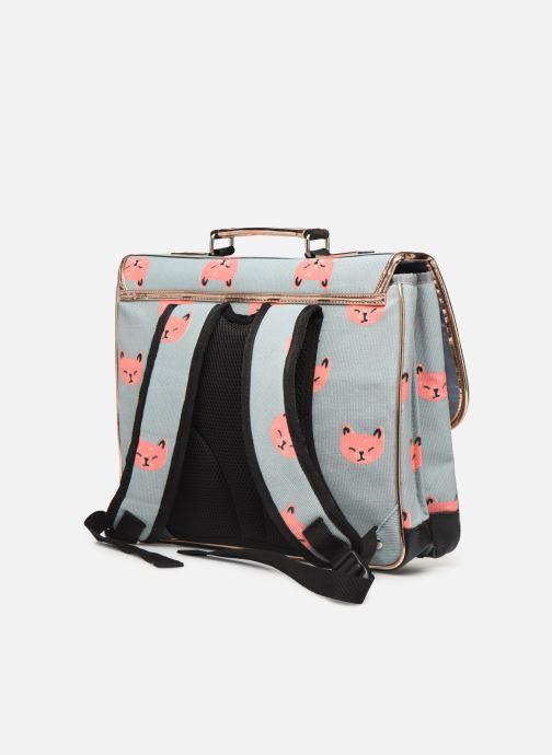 Skoletasker Caramel & Cie Cartable Classique 37cm Blå Se fra højre