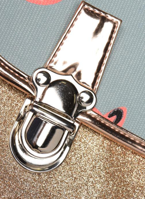 Skoletasker Caramel & Cie Cartable Classique 37cm Blå se bagfra