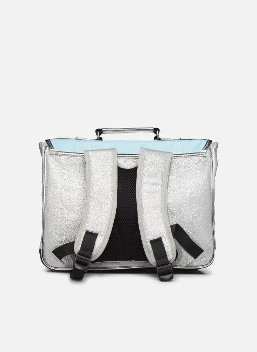 School bags Caramel & Cie Cartable Classique 37cm Blue front view