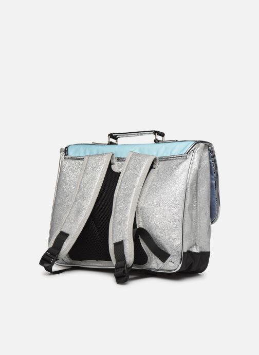 School bags Caramel & Cie Cartable Classique 37cm Blue view from the right