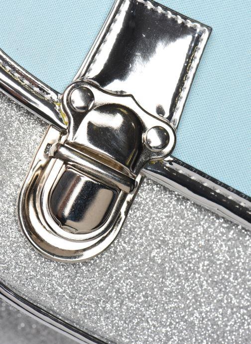 School bags Caramel & Cie Cartable Classique 37cm Blue back view