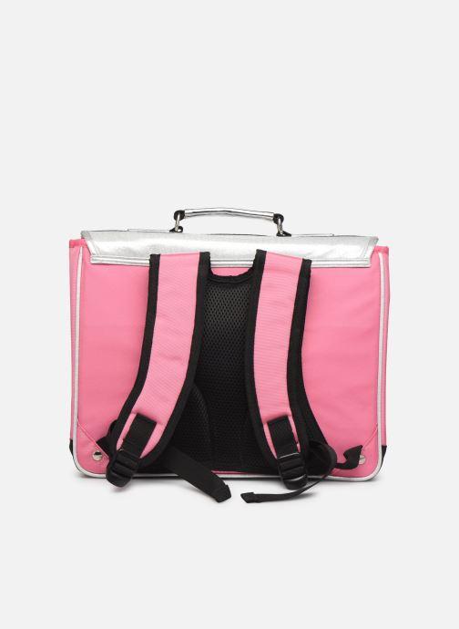 Schulzubehör Caramel & Cie Cartable Classique 37cm rosa ansicht von vorne