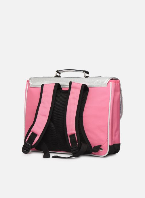 School bags Caramel & Cie Cartable Classique 37cm Pink view from the right