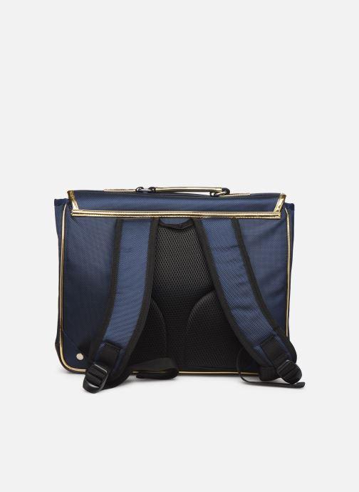 Scolaire Caramel & Cie Cartable Classique 37cm Bleu vue face