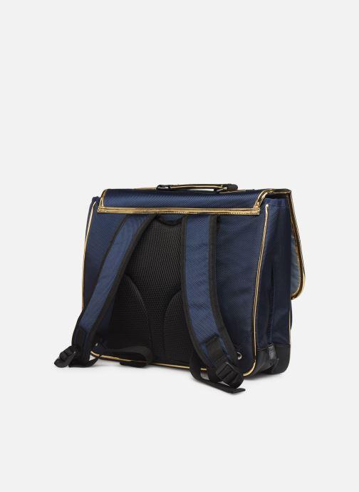 Scolaire Caramel & Cie Cartable Classique 37cm Bleu vue droite