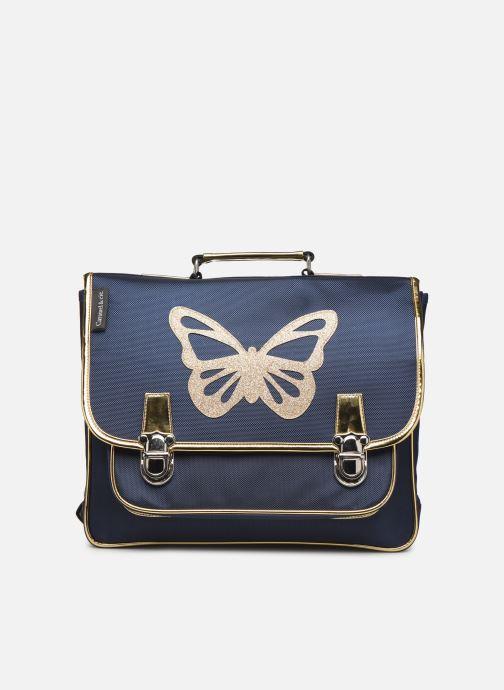 Scolaire Caramel & Cie Cartable Classique 37cm Bleu vue détail/paire