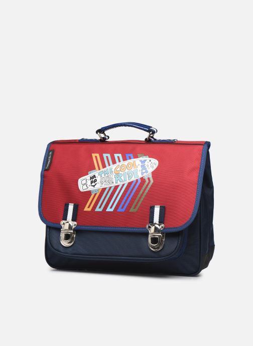 Per la scuola Caramel & Cie Cartable Classique 37cm Rosso modello indossato