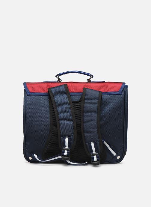 School bags Caramel & Cie Cartable Classique 37cm Red front view