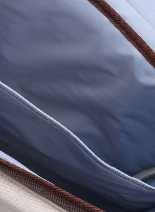 School bags Caramel & Cie Cartable Classique 37cm Beige back view
