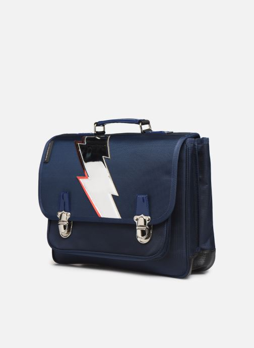 Schooltassen Caramel & Cie Cartable Classique 37cm Blauw model
