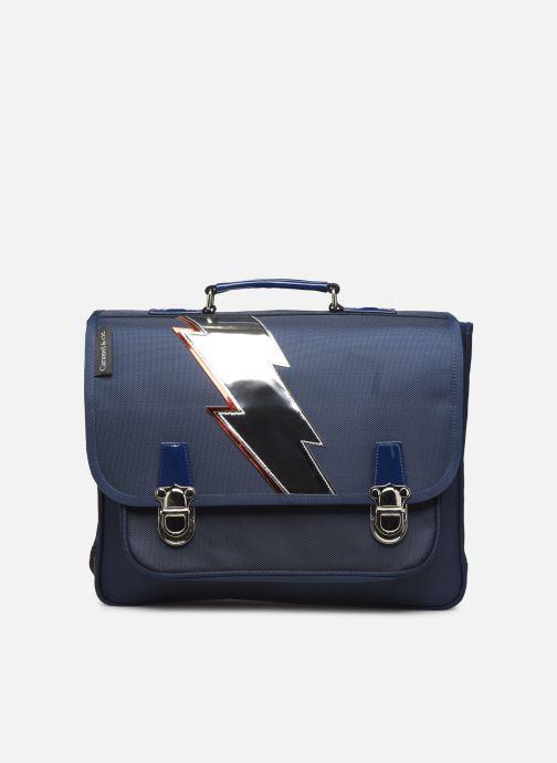 Schooltassen Caramel & Cie Cartable Classique 37cm Blauw detail