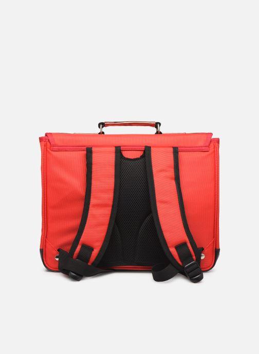 Scolaire Caramel & Cie Cartable Classique 37cm Rouge vue face