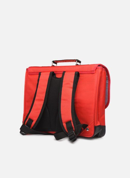 Scolaire Caramel & Cie Cartable Classique 37cm Rouge vue droite