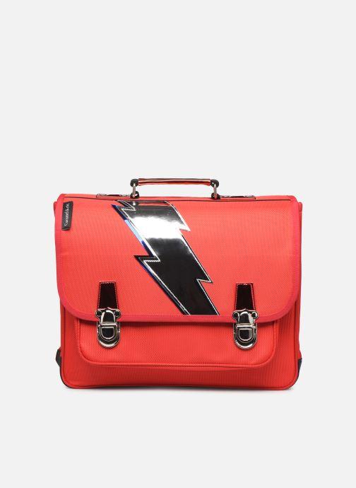 Scolaire Caramel & Cie Cartable Classique 37cm Rouge vue détail/paire