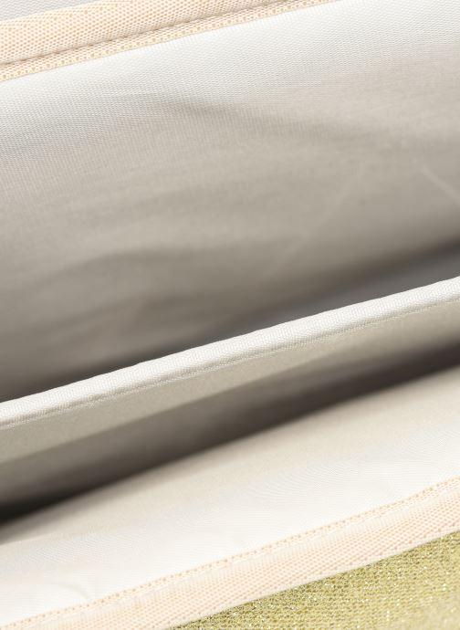 Schooltassen Caramel & Cie Cartable Classique 34cm Goud en brons achterkant