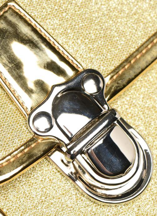 Schooltassen Caramel & Cie Cartable Classique 34cm Goud en brons links