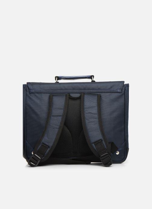 Scolaire Caramel & Cie Cartable Classique 34cm Bleu vue face