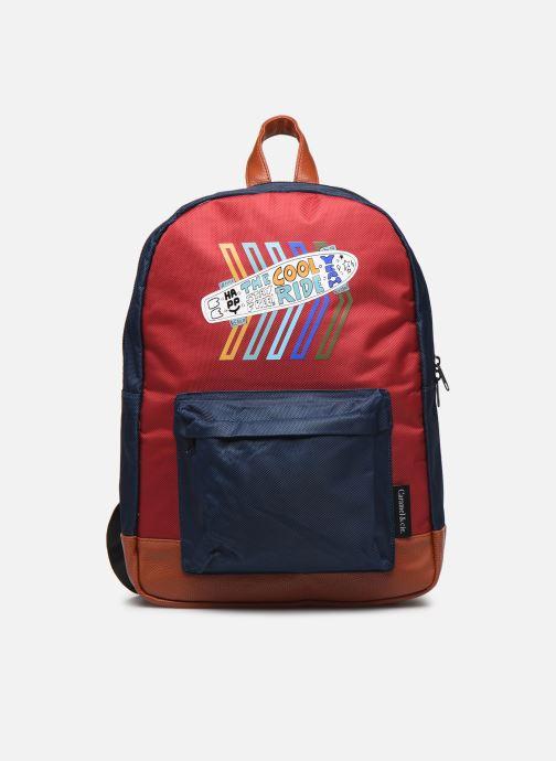School bags Caramel & Cie Sac à dos Classique Red detailed view/ Pair view