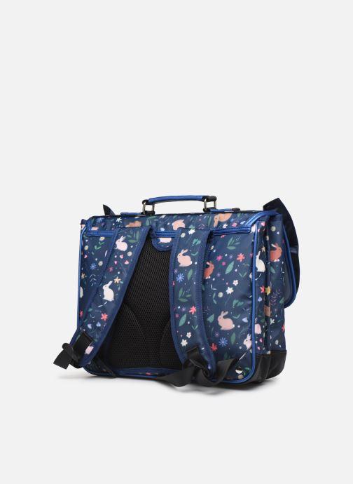 Skoletasker Caramel & Cie Cartable Belle rentrée 37cm Blå Se fra højre