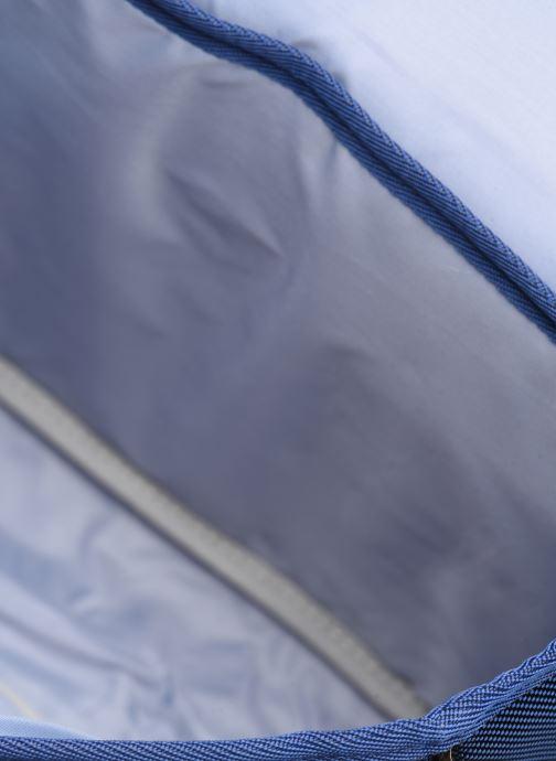 Schooltassen Caramel & Cie Mini cartable Papillons Blauw achterkant