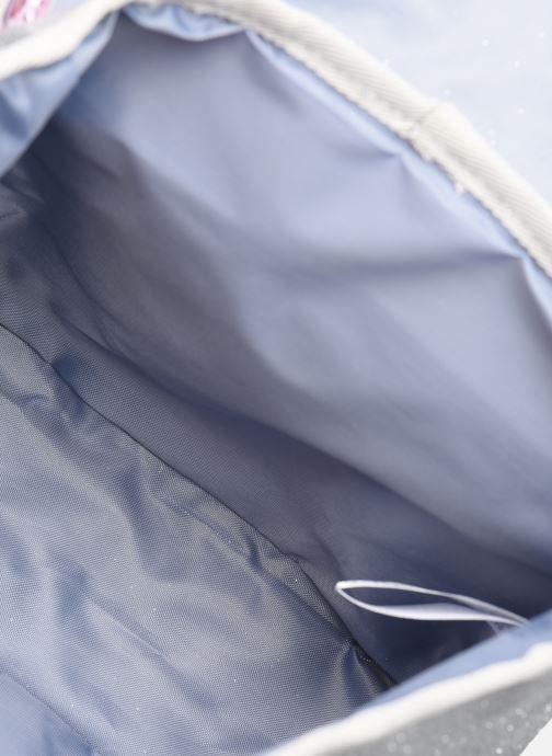 School bags Caramel & Cie Mini cartable Papillons Silver back view