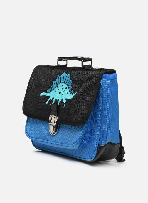 Schooltassen Caramel & Cie Mini cartable Blauw model