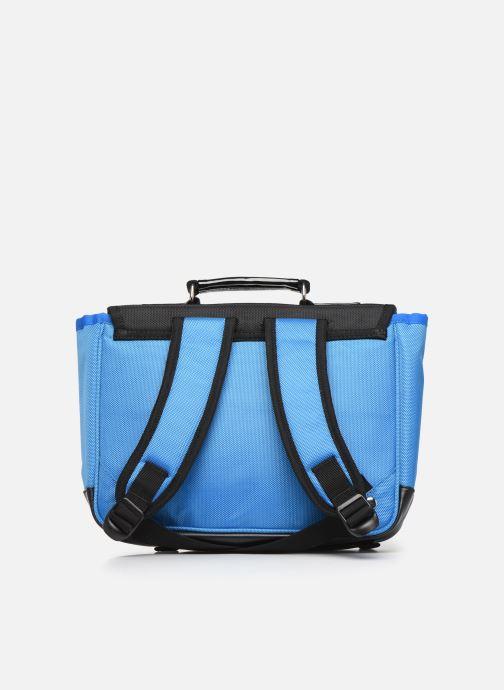 Schooltassen Caramel & Cie Mini cartable Blauw voorkant