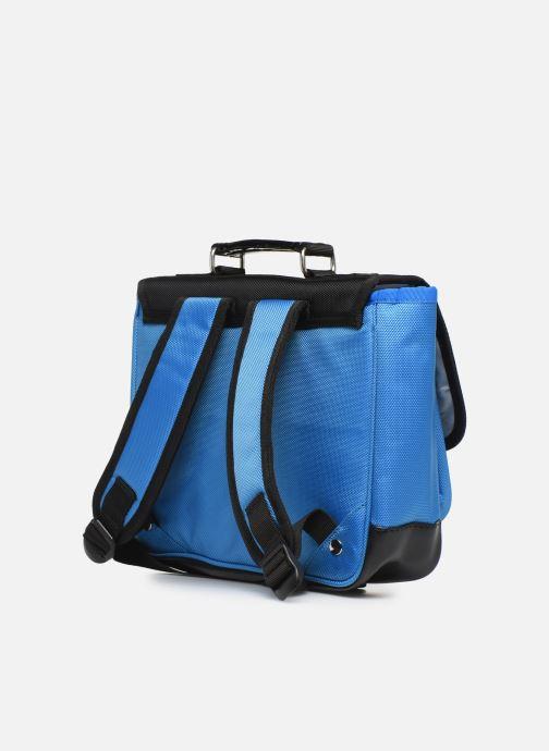 Schooltassen Caramel & Cie Mini cartable Blauw rechts
