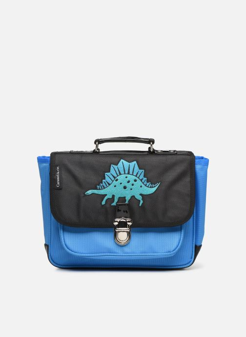 Schooltassen Caramel & Cie Mini cartable Blauw detail