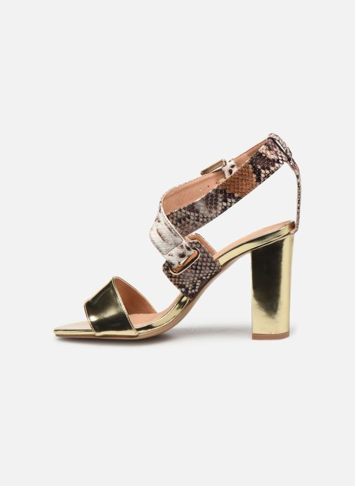 Sandalen Vanessa Wu SD1266 gold/bronze ansicht von vorne