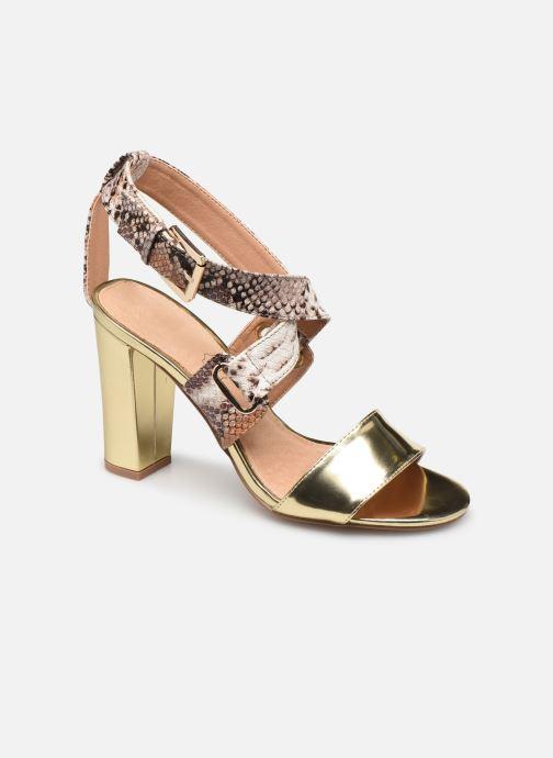 Sandalen Vanessa Wu SD1266 gold/bronze detaillierte ansicht/modell