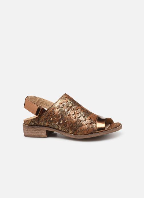 Sandales et nu-pieds Vanessa Wu SD1319 Or et bronze vue derrière
