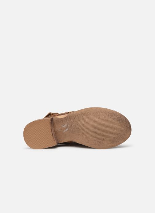 Sandales et nu-pieds Vanessa Wu SD1319 Or et bronze vue haut