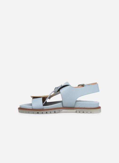 Sandali e scarpe aperte Vanessa Wu SD1255 Azzurro immagine frontale