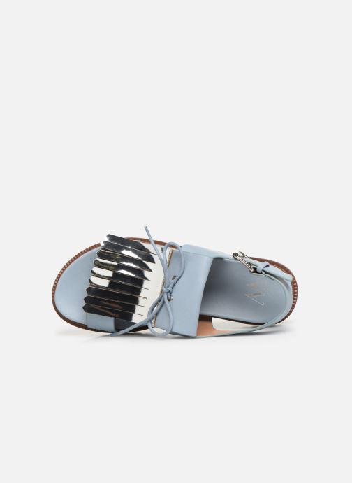 Sandali e scarpe aperte Vanessa Wu SD1255 Azzurro immagine sinistra