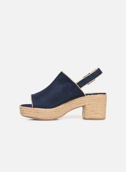 Espadrilles Vanessa Wu SD1246 Blue front view
