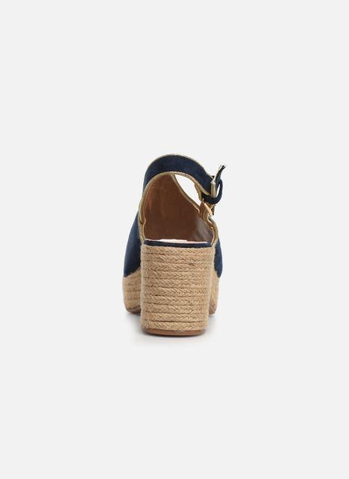 Scarpe di corda Vanessa Wu SD1246 Azzurro immagine destra