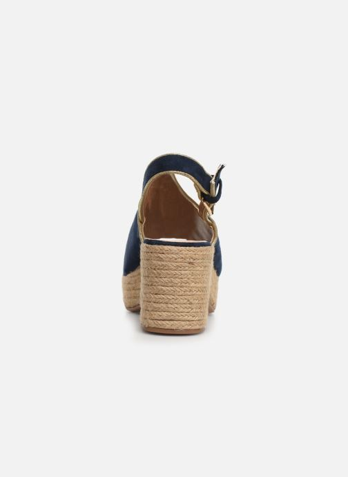 Espadrilles Vanessa Wu SD1246 Blue view from the right