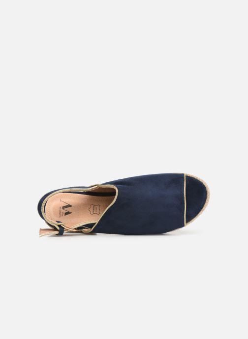 Scarpe di corda Vanessa Wu SD1246 Azzurro immagine sinistra