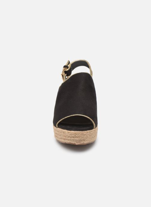 Scarpe di corda Vanessa Wu SD1246 Nero modello indossato