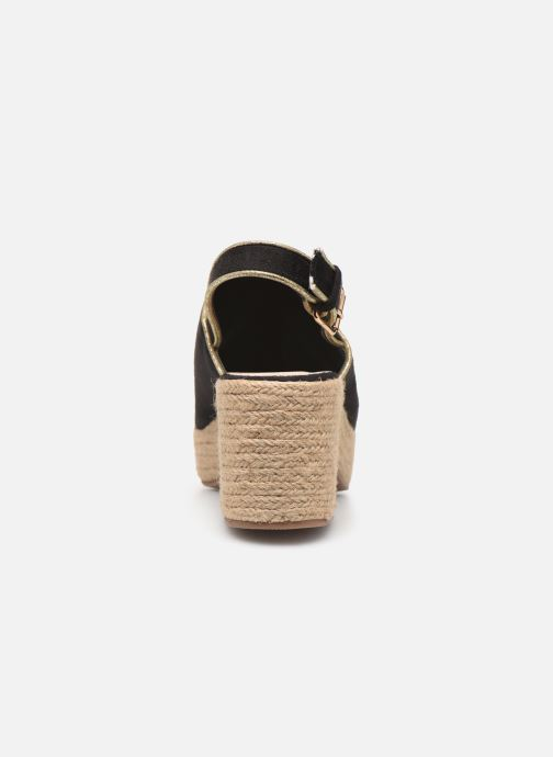 Scarpe di corda Vanessa Wu SD1246 Nero immagine destra
