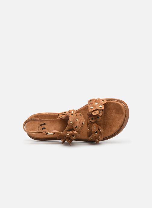 Sandali e scarpe aperte Vanessa Wu SD1546 Marrone immagine sinistra