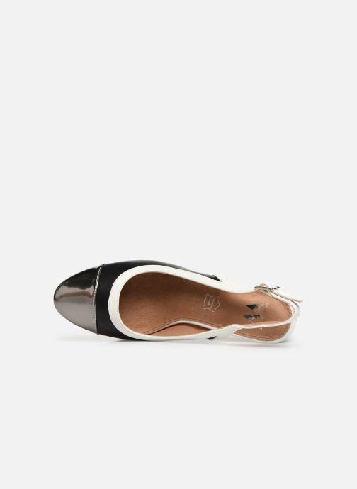 Zapatos de tacón Vanessa Wu SD1549 Negro vista lateral izquierda